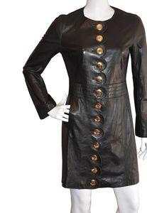 Tory Burch Cordelia Leather Coat